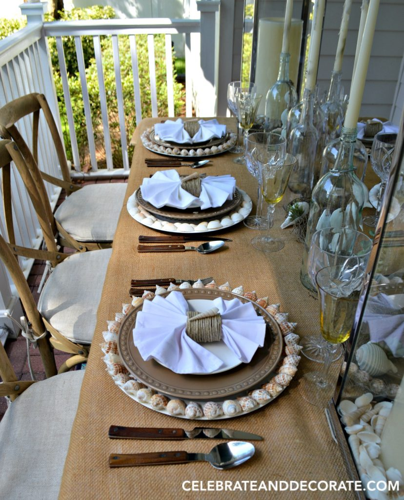 A Beach Inspired Summer Tablescape