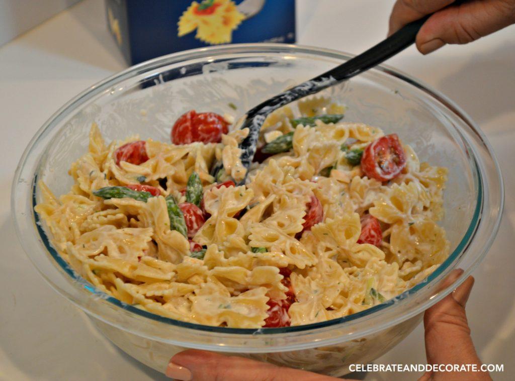 Barilla Farfalle Pasta Salad