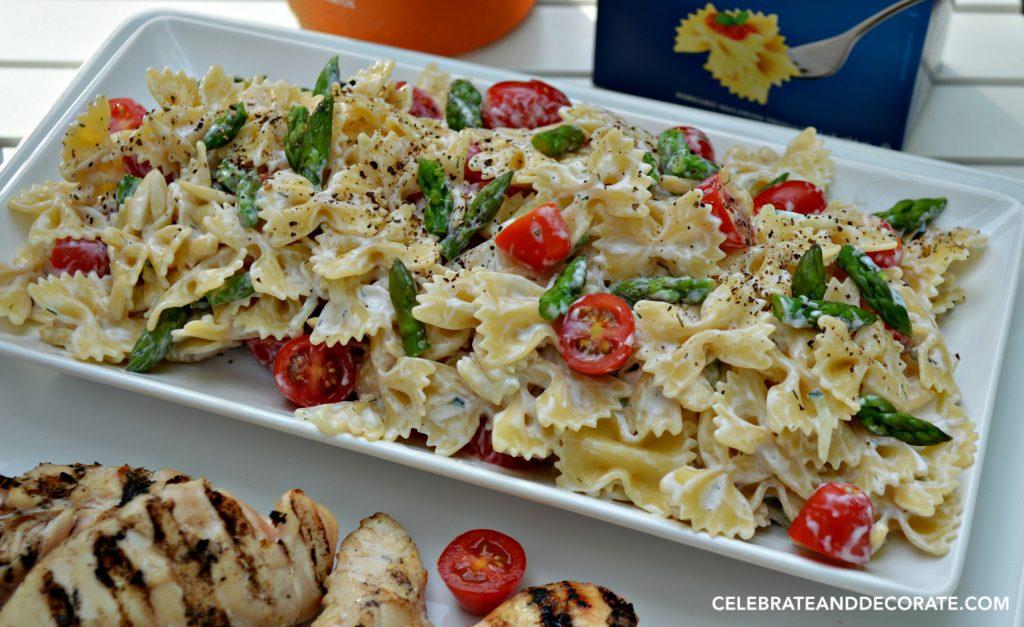 Barilla Farfalle Summertime Salad