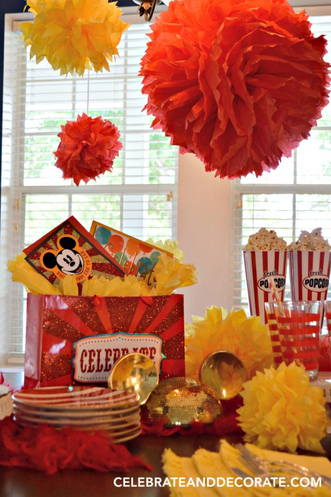 Celebrating Summer Birthdays with DIY Tissue Paper Pom poms