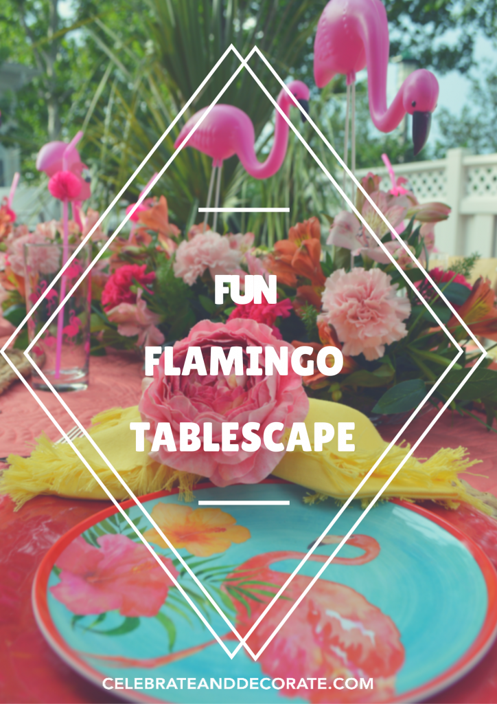 FUN FLAMINGO TABLESCAPE