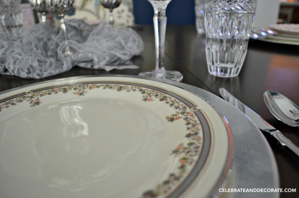 Lace Point China by Lenox