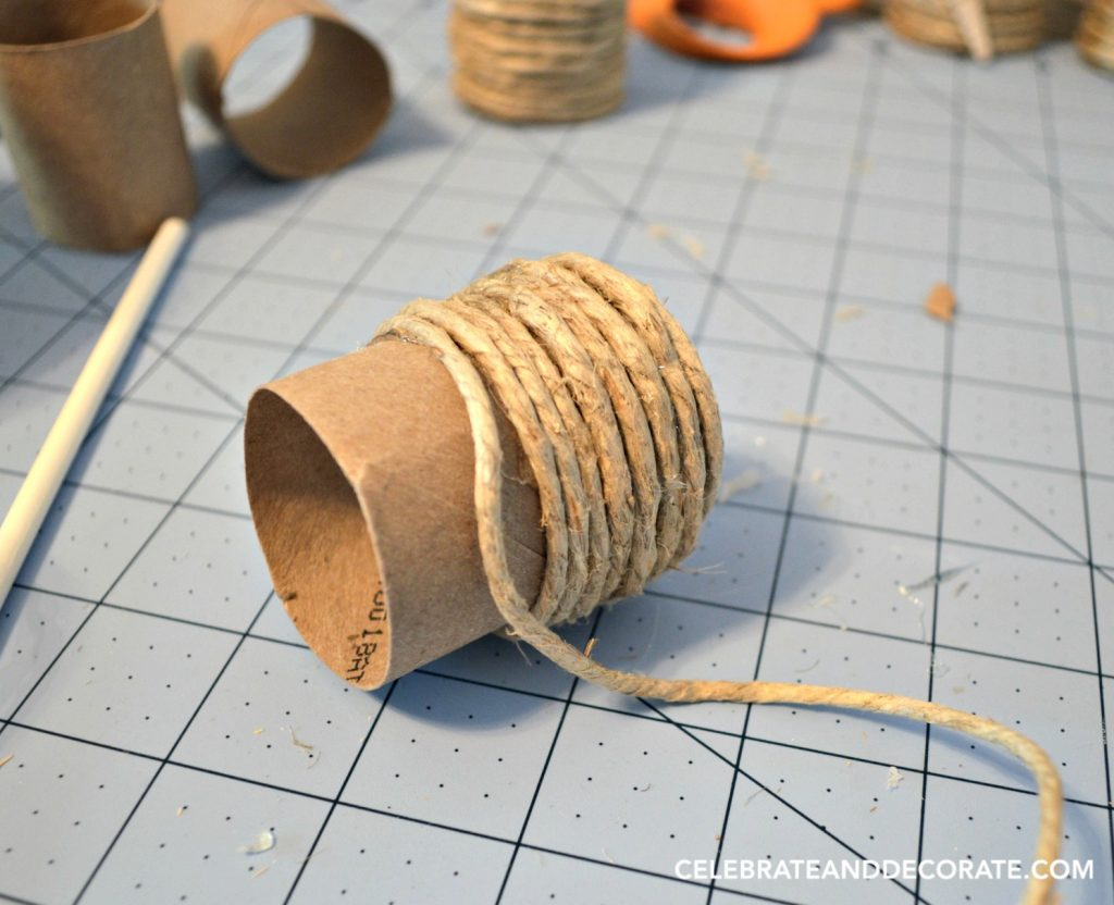 Make your own coastal style napkin rings.