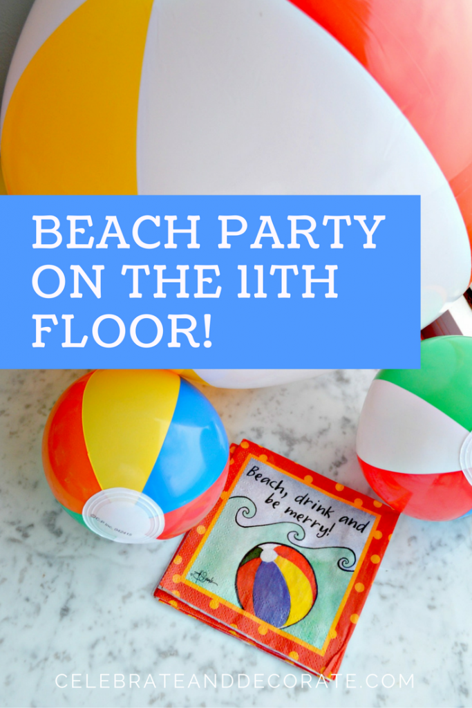 Copy of Summer Beach Ball Tablescape