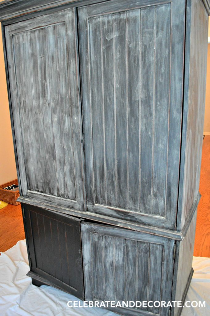 DIY Armoire Milk Paint Makeover