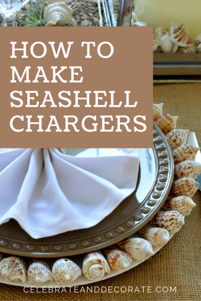 How To Make Seashell Charger