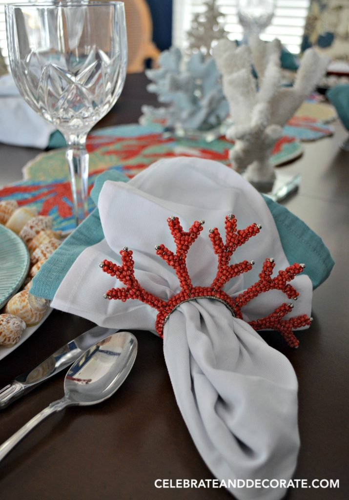 A Coral Table Celebration Celebrate Amp Decorate