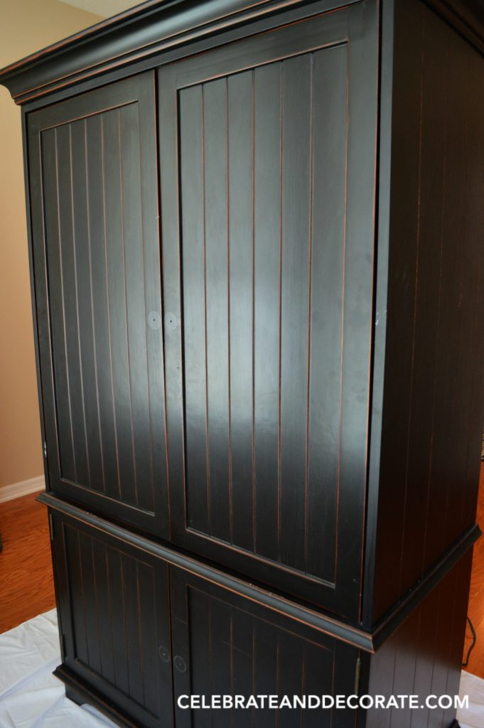 Restyling an old armoire