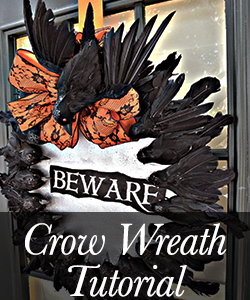 Crow Wreath Tutorial