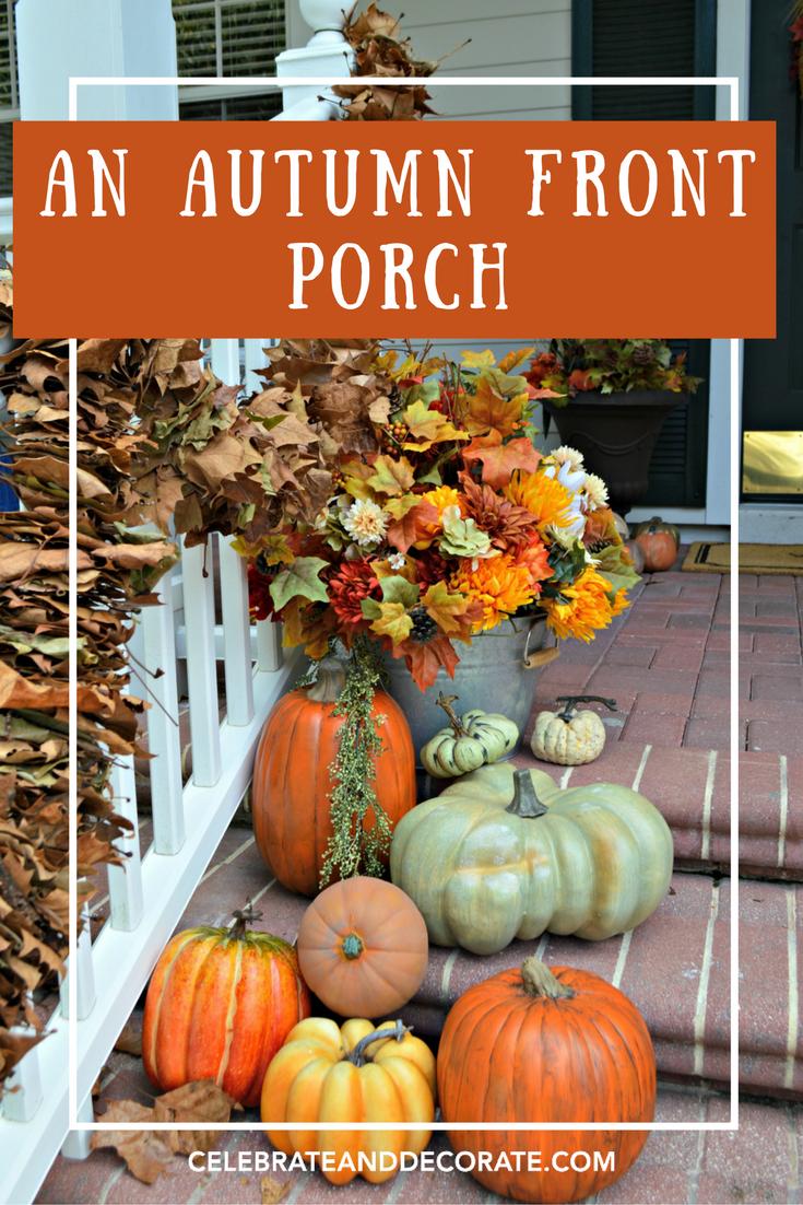 An Autumn Front Porch Celebrate