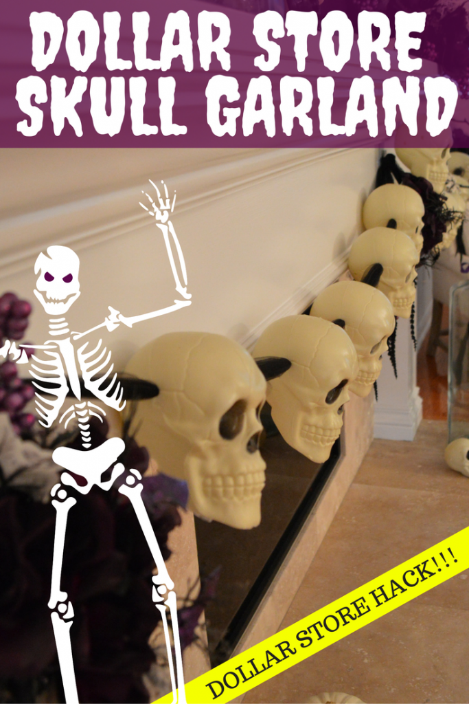 dollar-store-skull-garland-for-halloween