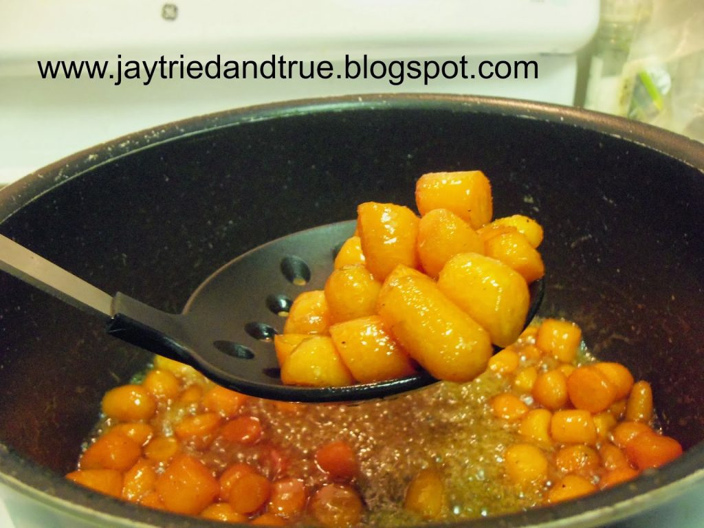 How about some delicious Whiskey Glazed Carrots from Jay Tried and ...