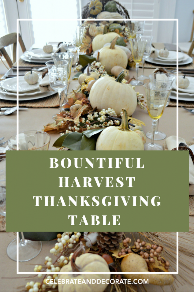 Bountiful Harvest Thanksgiving Table