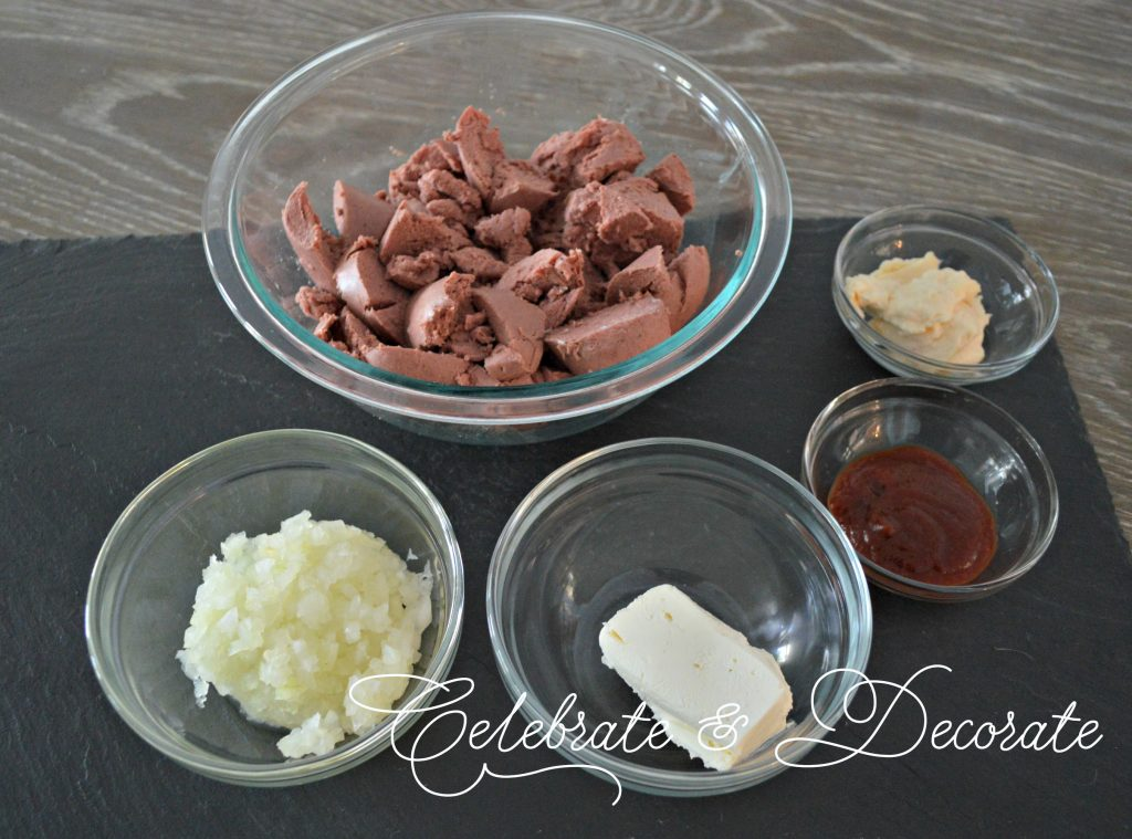 Ingredients for a great party appetizer