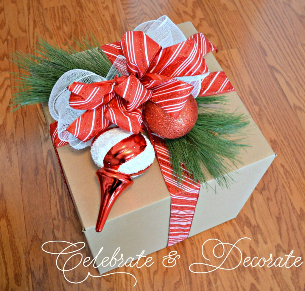 Diy christmas decorations with boxes celebrate decorate Make your own christmas bunting