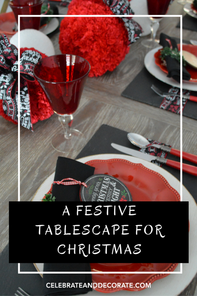 A Festive Tablescape for Christmas