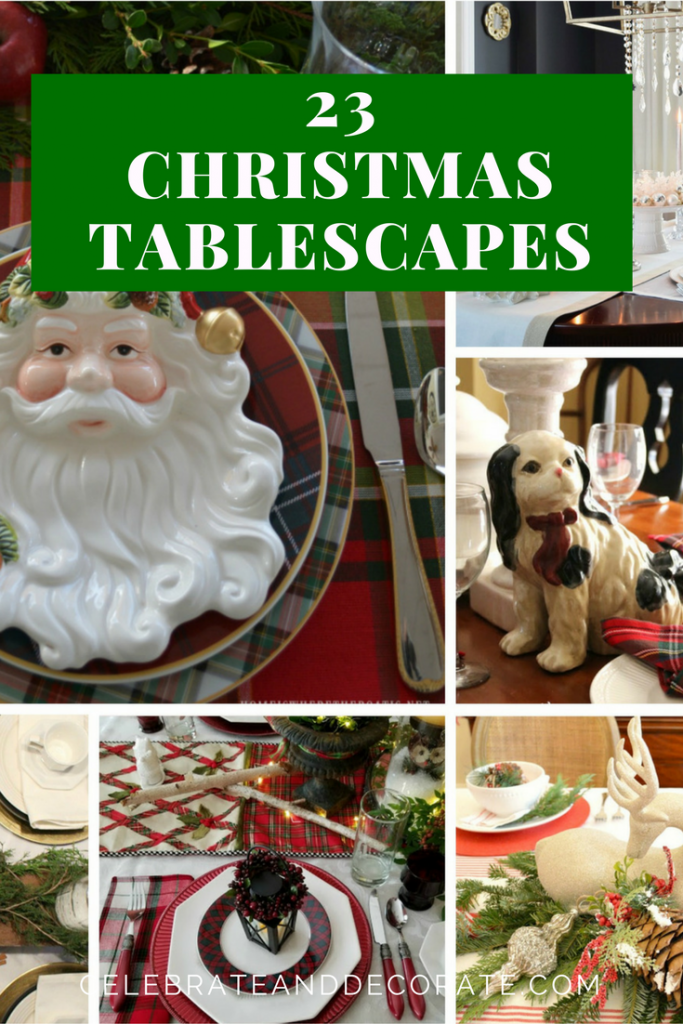 23 Amazing Christmas Tablescapes!