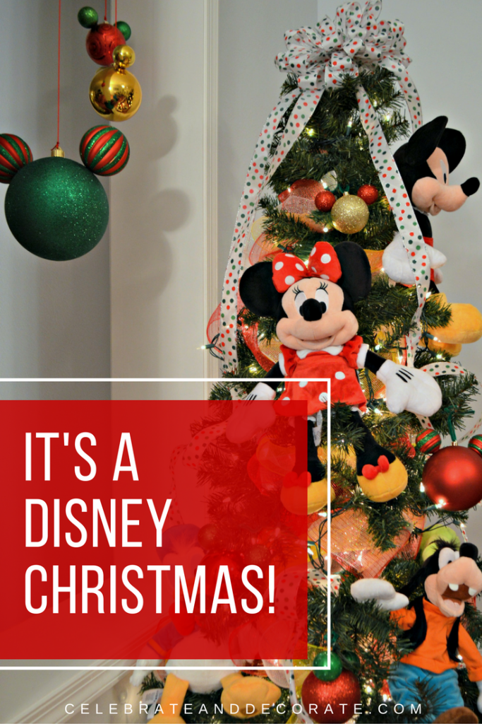 It's a Disney Christmas with DIY ideas!