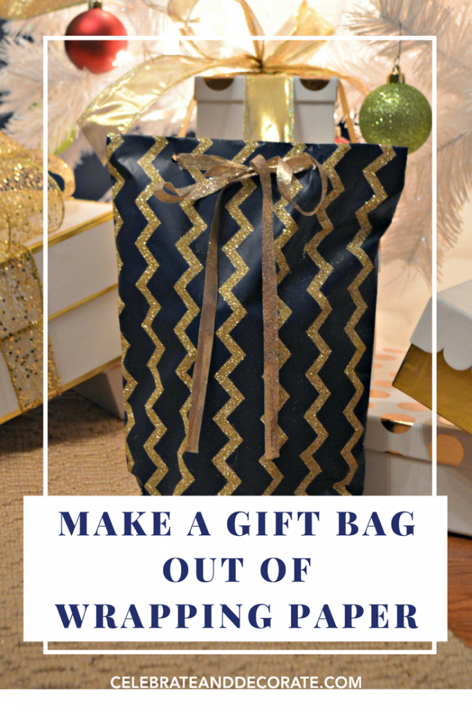 Make a Gift Bag Out of Wrapping Paper - Celebrate & Decorate