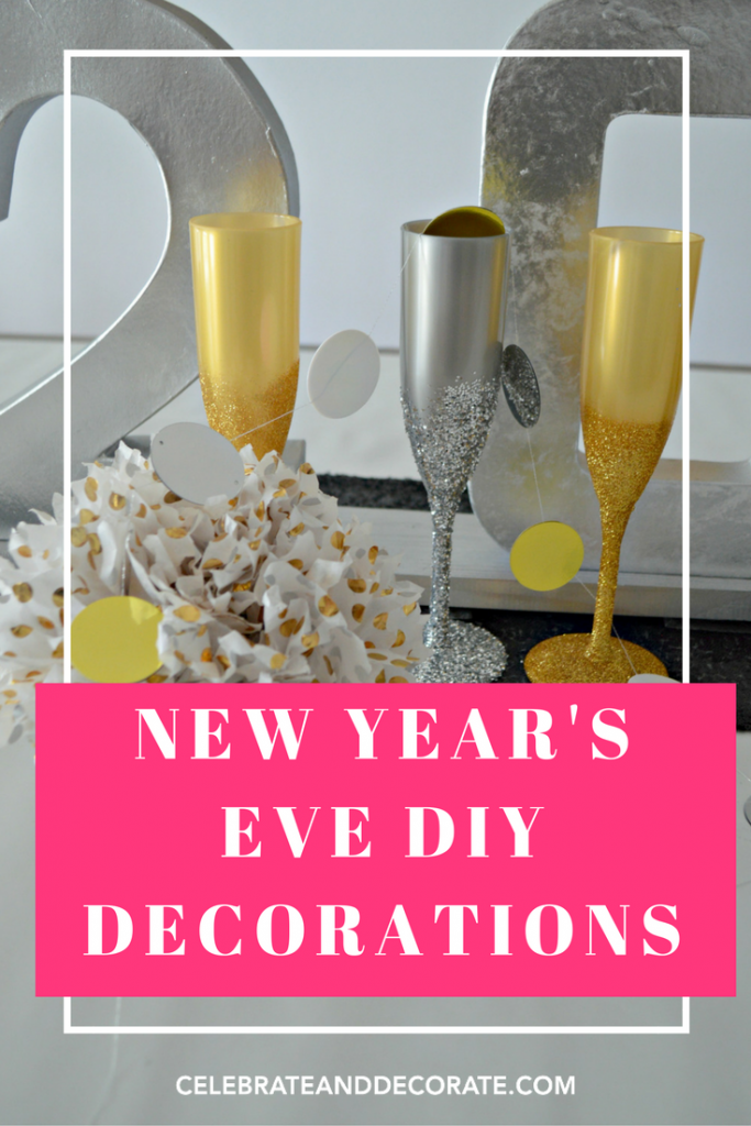 Last Minute New Year's Eve DIY Projects - Celebrate & Decorate