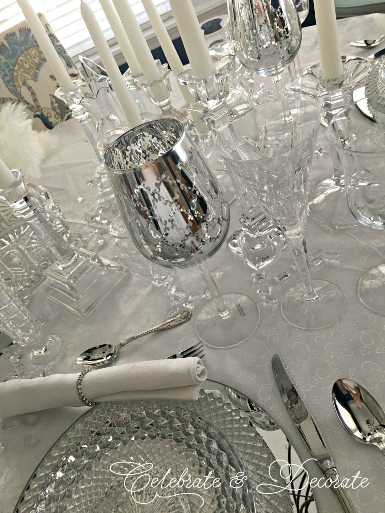 Romantic Dinner For Two Tablescape