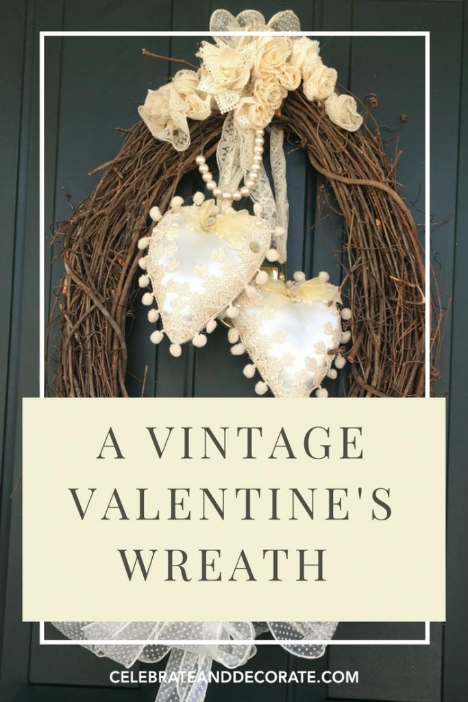 A Vintage Valentine's Wreath
