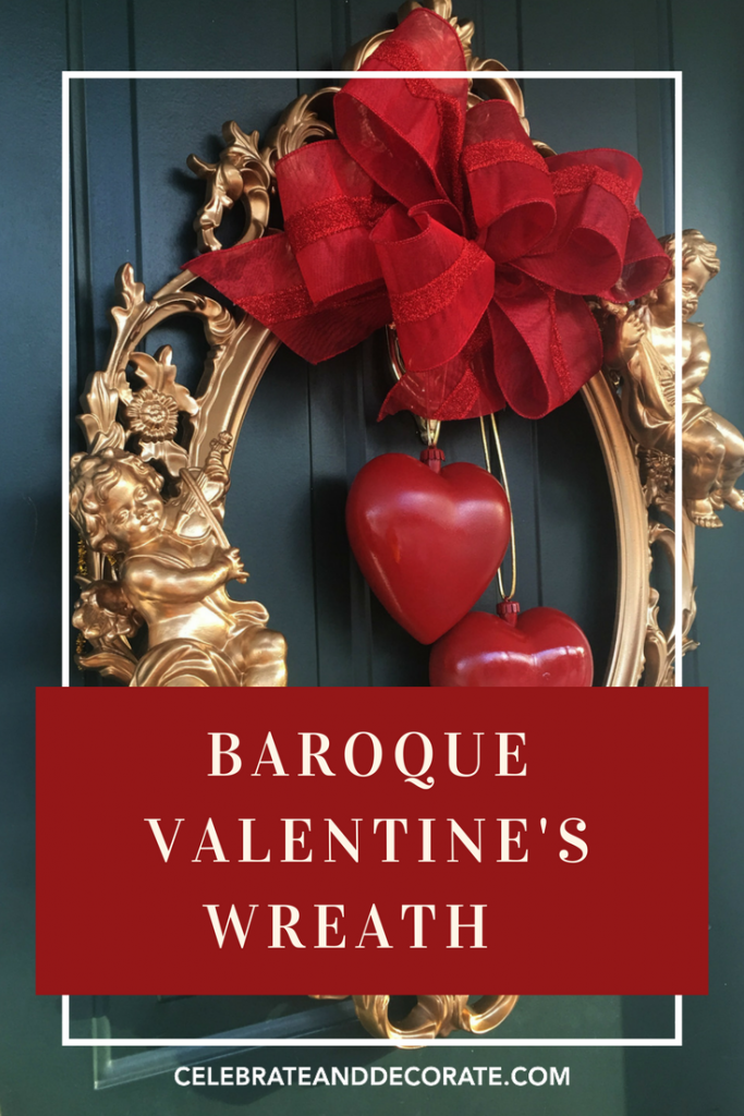 Baroque Valentine's Wreath