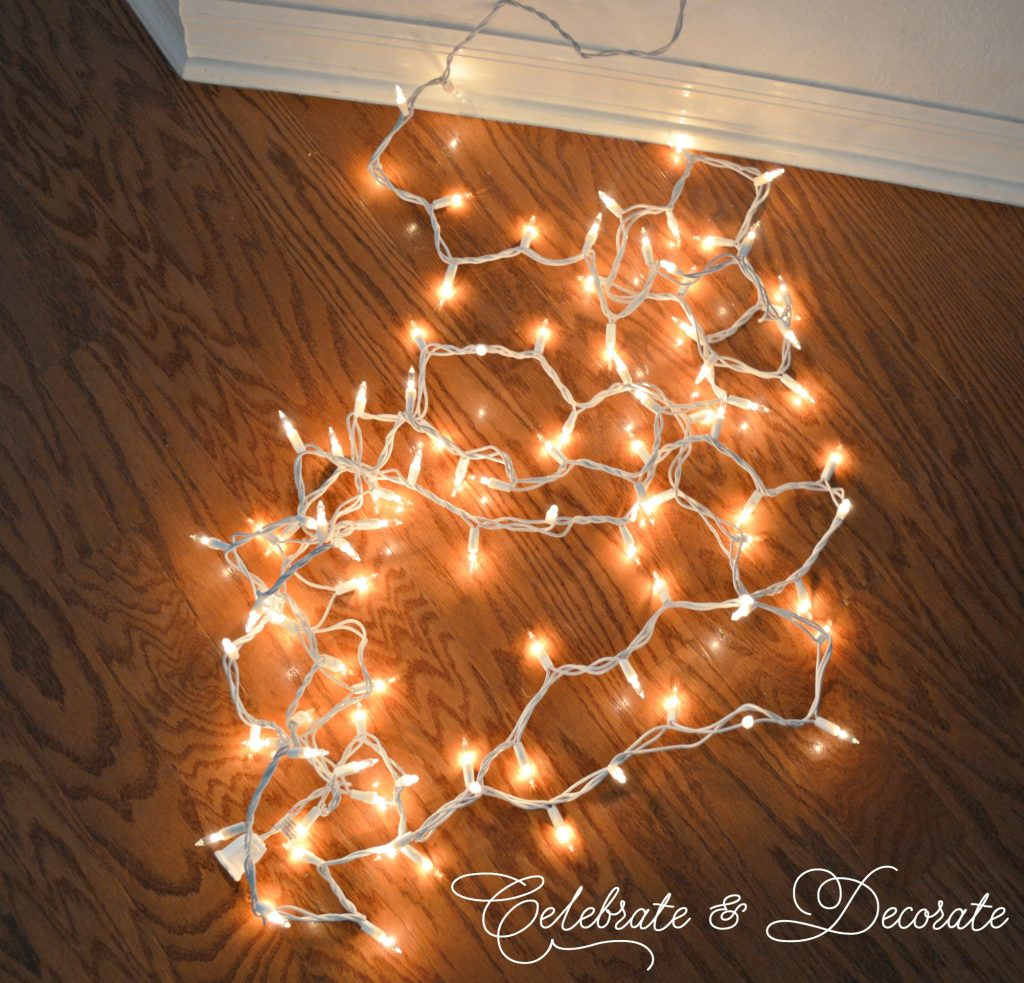 Store your Christmas lights with these tips.
