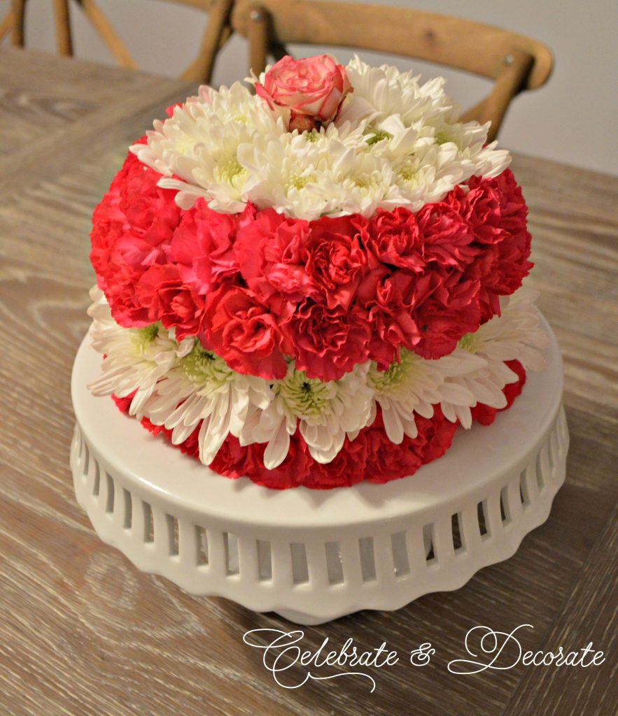 How to make a floral cake