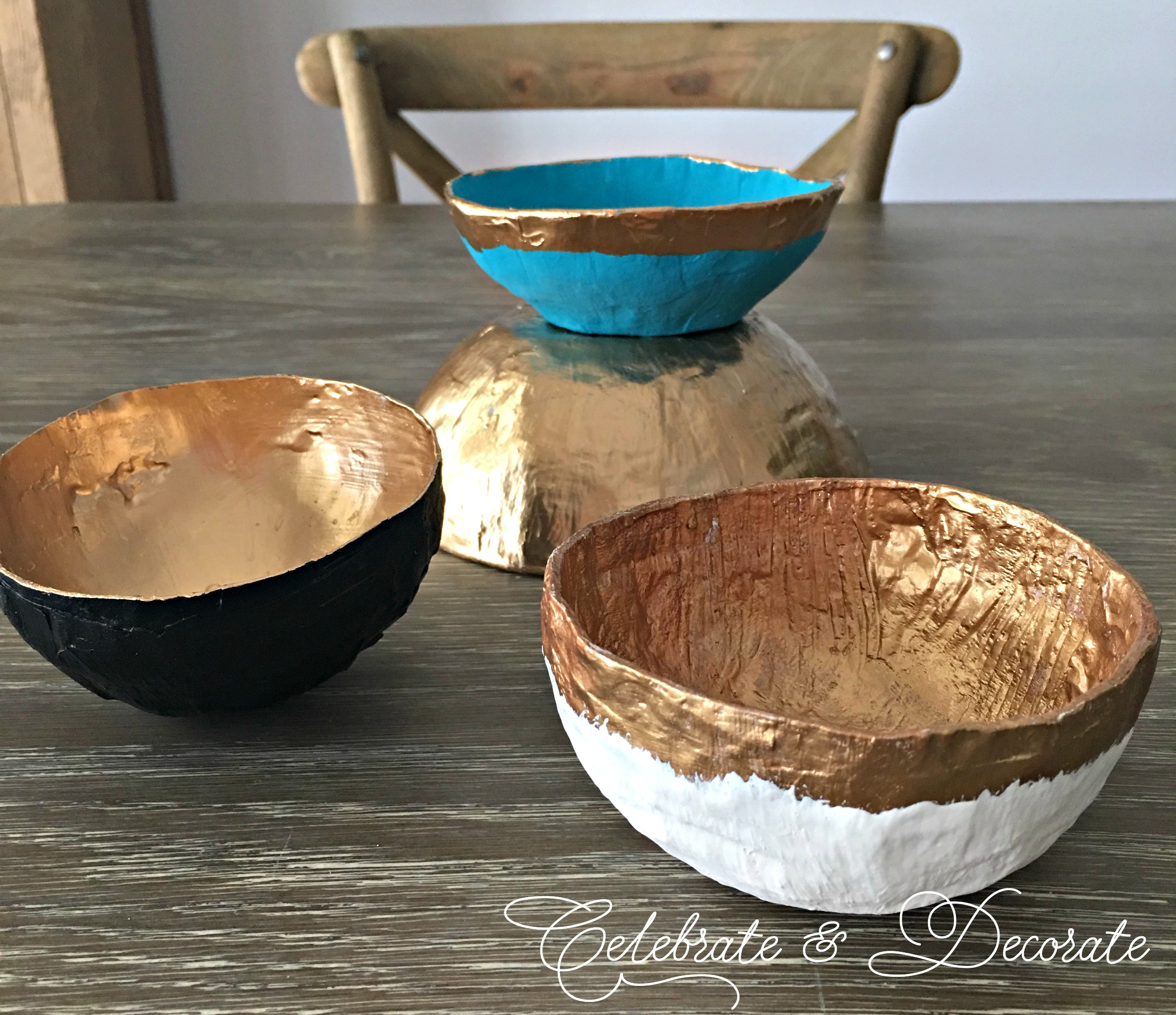 & DIY Paper Mache Bowl - Celebrate \u0026 Decorate