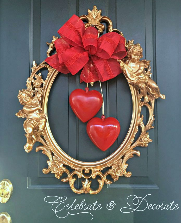 A DIY Baroque Valentine's Wreath