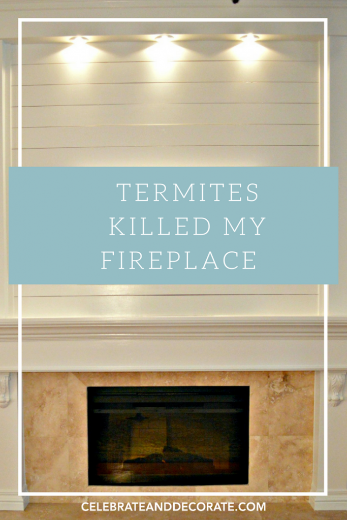 Termites killed my fireplace