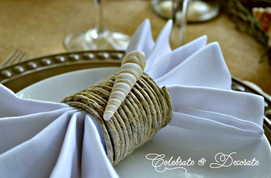 Unique DIY Napkin Rings