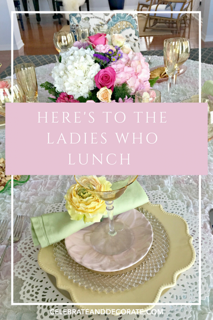 Here's To The Ladies Who Lunch