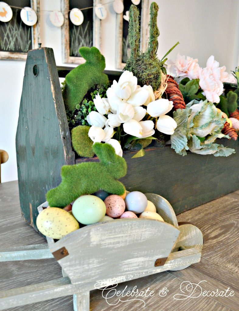 Farmhouse Easter Centerpiece