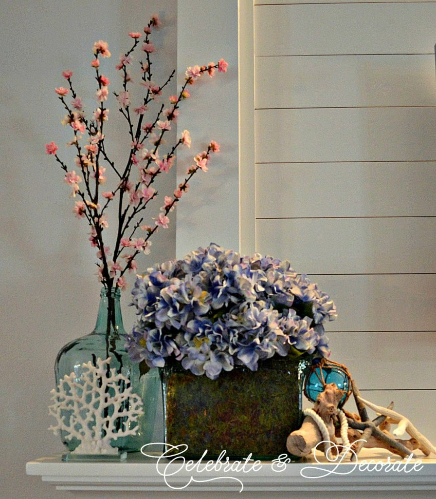 Easter Coastal mantel