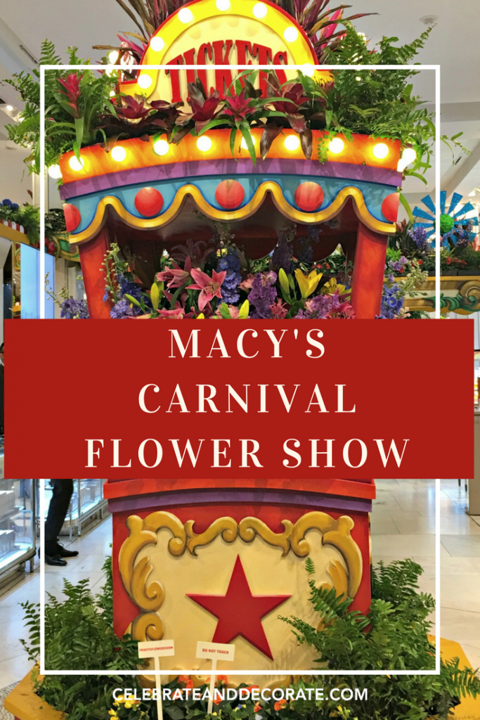 A carnival of a flower show celebrate decorate - Chicago flower and garden show 2017 ...