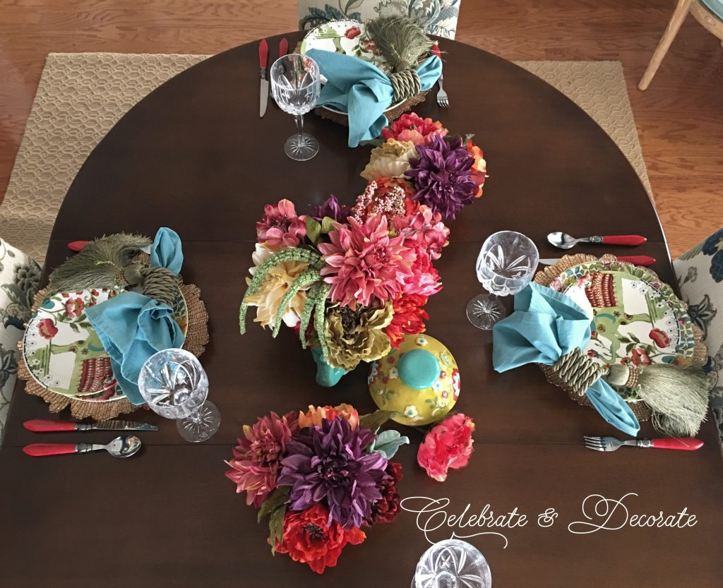 An India Inspired Tablescape