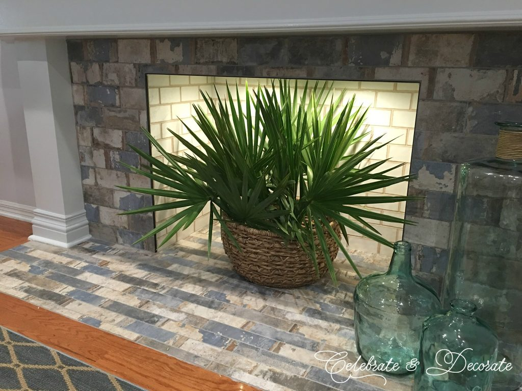 Coastal Home Fireplace