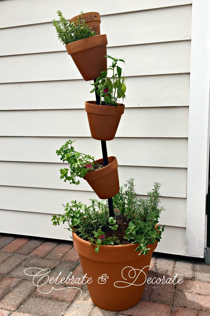 DIY PATIO HERB GARDEN