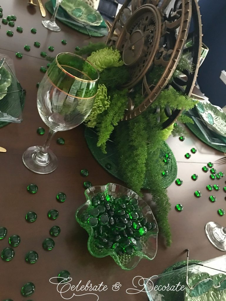Wicked the Musical Tablescape