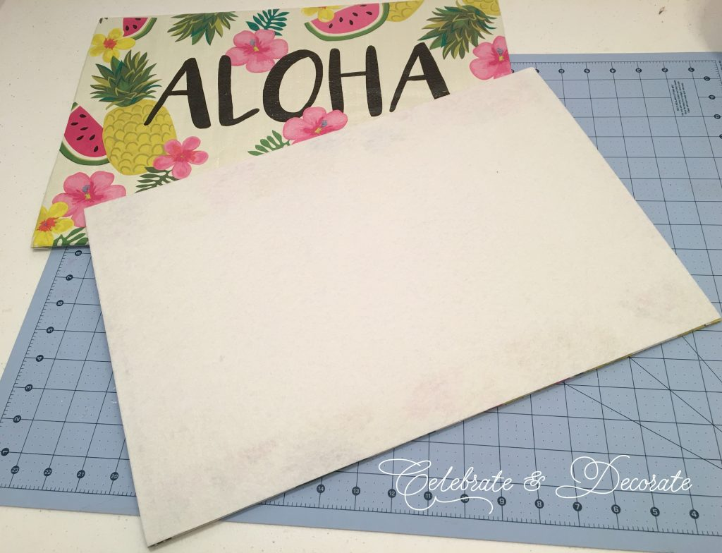 DIY Placemats From Shopping Bags!