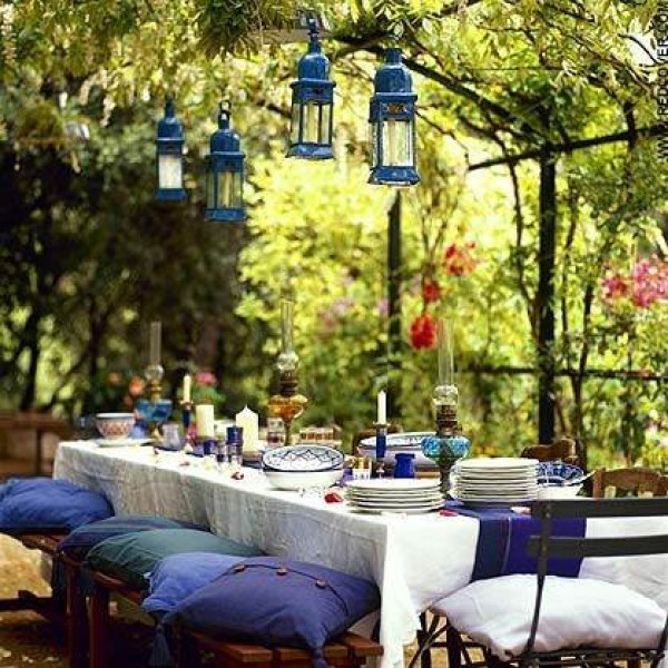 Summertime Outdoor dining