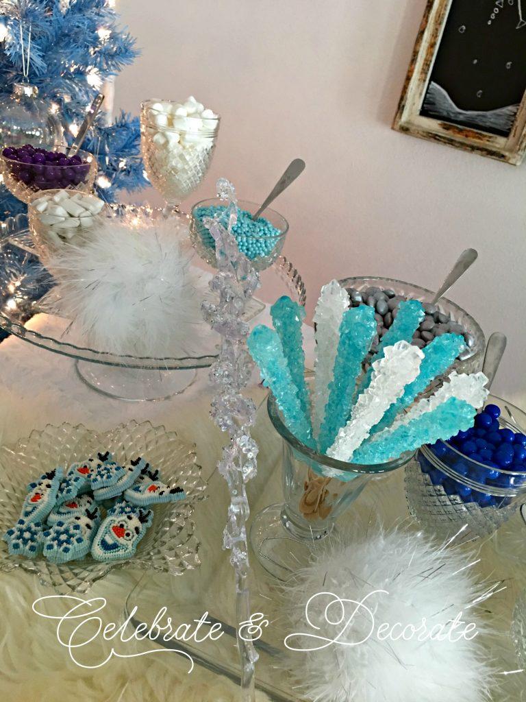 A Frozen Ice Cream Party