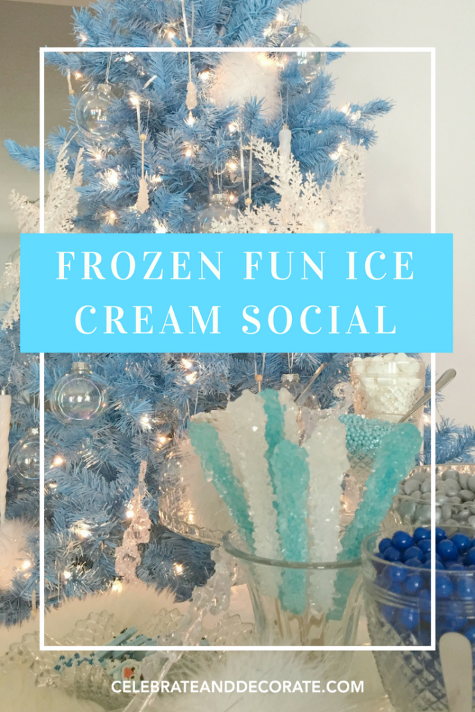 Frozen Fun Ice Cream Social