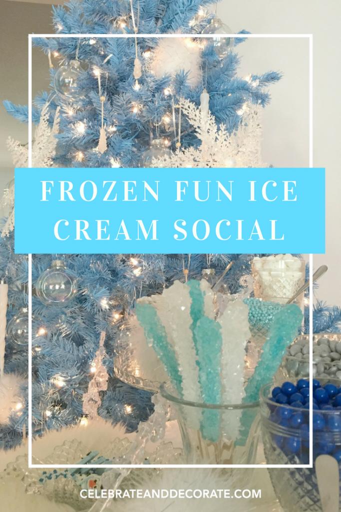 Frozen Fun Ice Cream Social