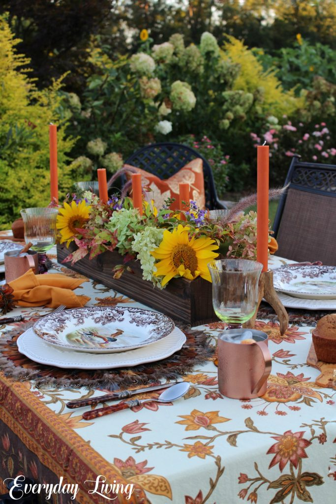 Fall tablesettin