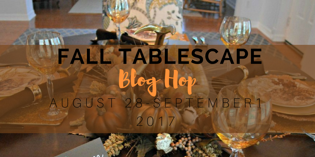 Fall Tablescape Blog Hop