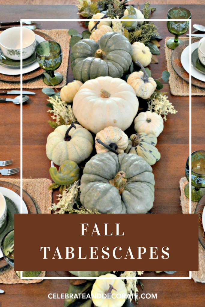 Fall Tablescapes