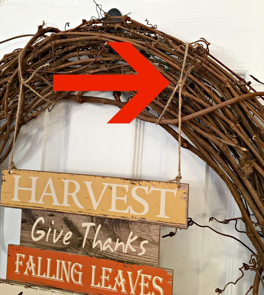 Make a quick and easy Fall wreath
